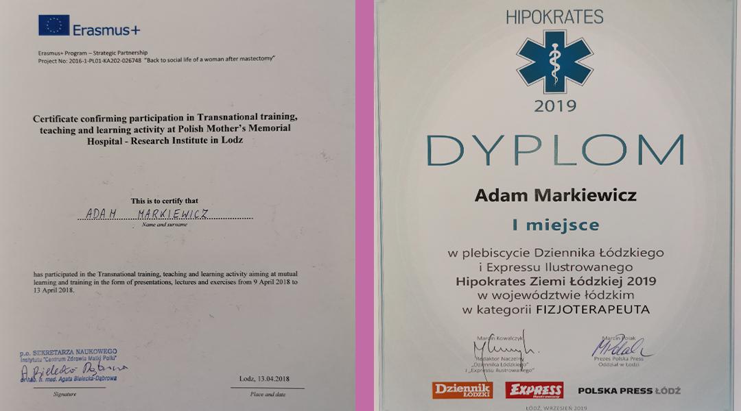 Certyfikaty i dyplomy 15