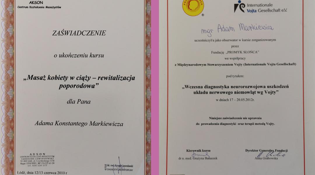 Certyfikaty i dyplomy 6