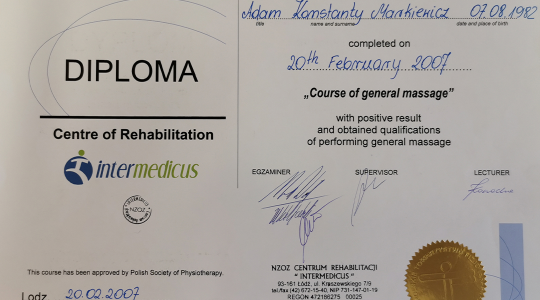 Certyfikaty i dyplomy 13