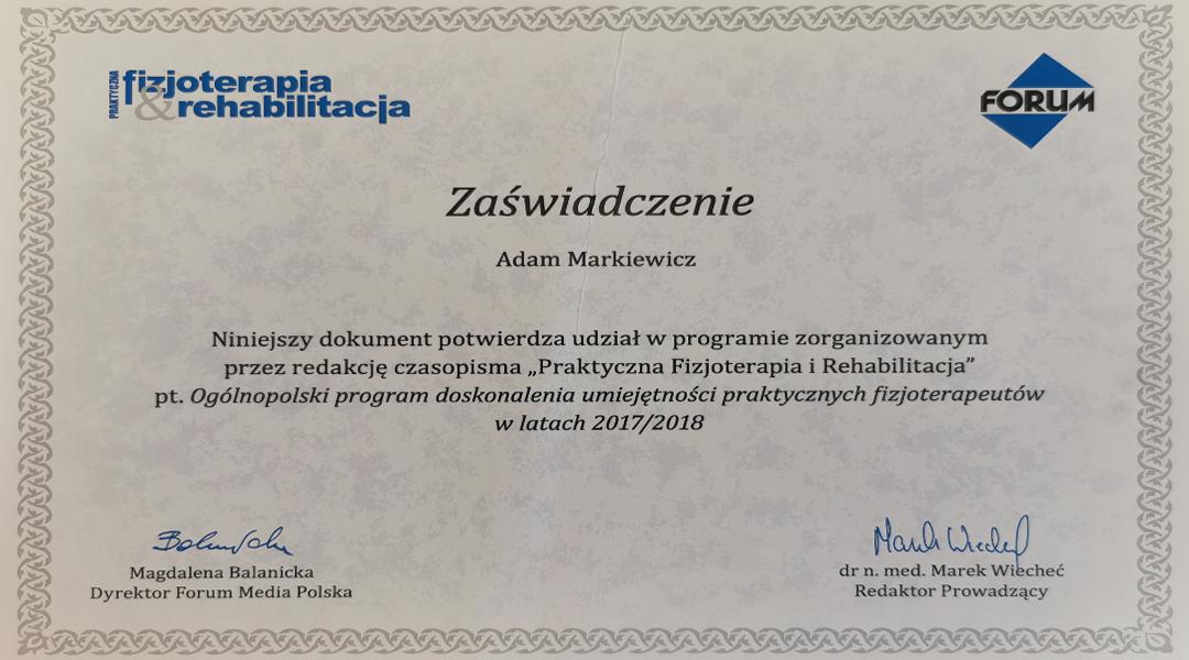 Certyfikaty i dyplomy 9