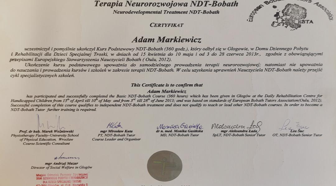 Certyfikaty i dyplomy 7